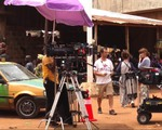Film production in Africa, film crew, production support for feature film in BENIN
